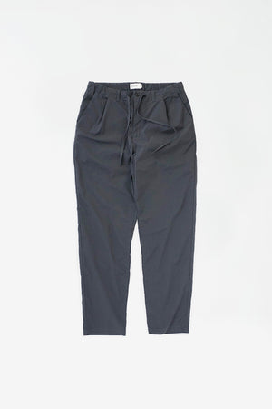 Slim tapered pants charcoal