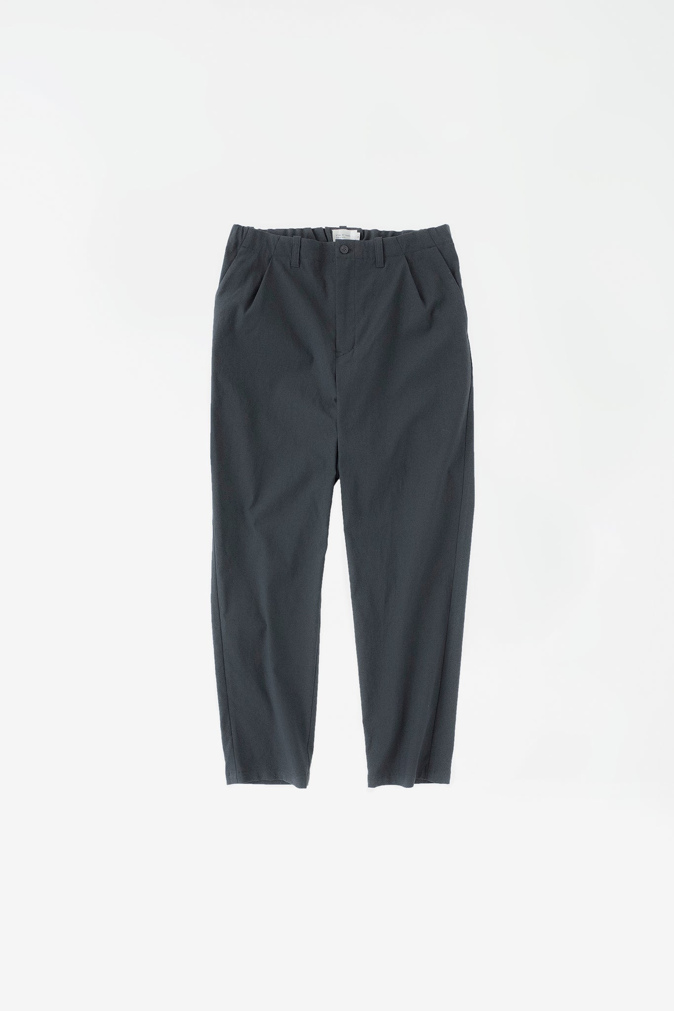 Slim tapered pants dark teal