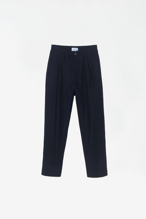 Smoke trousers dark navy twill