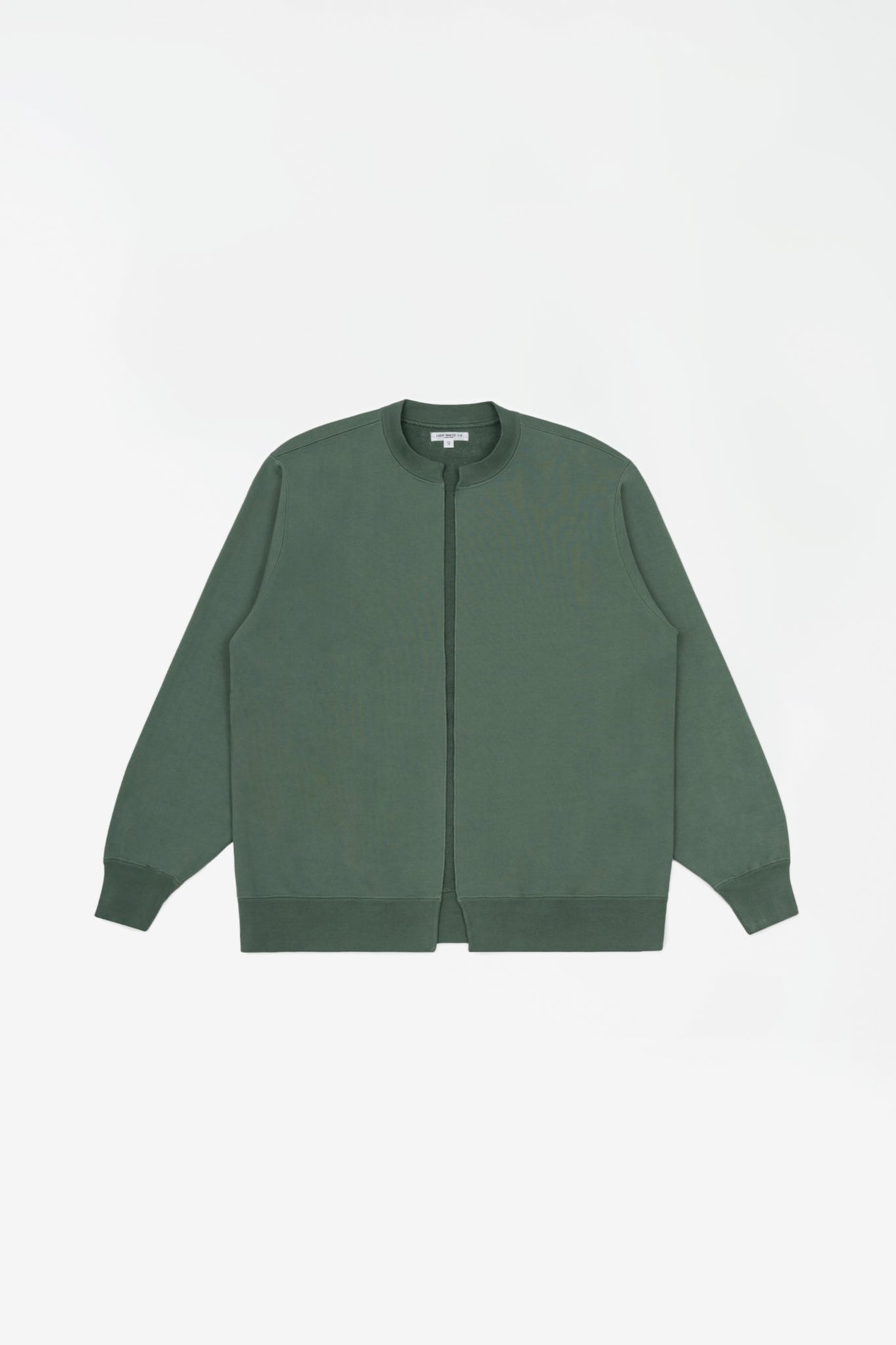 Split crew neck cardigan ez sage