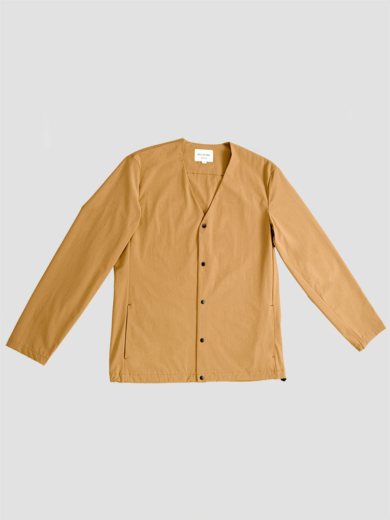 Still by Hand. Camel cardigan