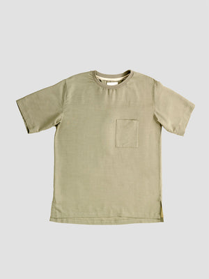 Still by Hand. Green t-shirt