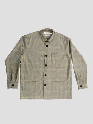 Schnayderman's. Overshirt Prince of Wales check