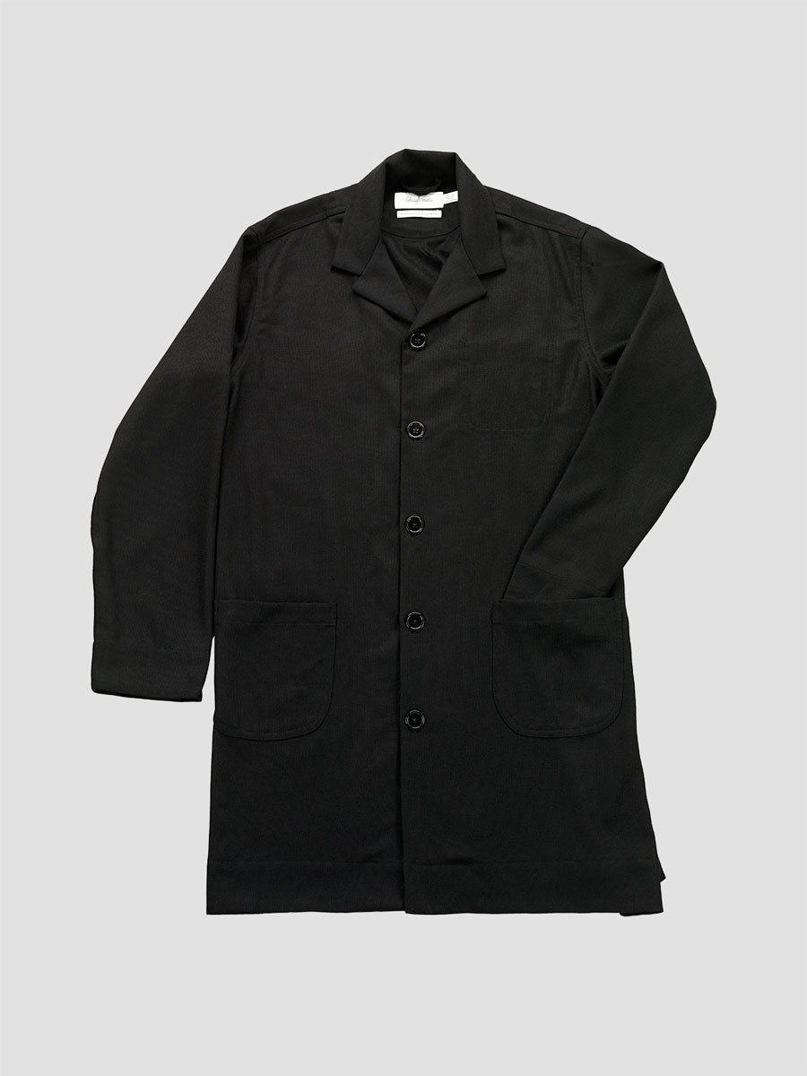 Schnayderman's. Coatshirt virgin wool one black