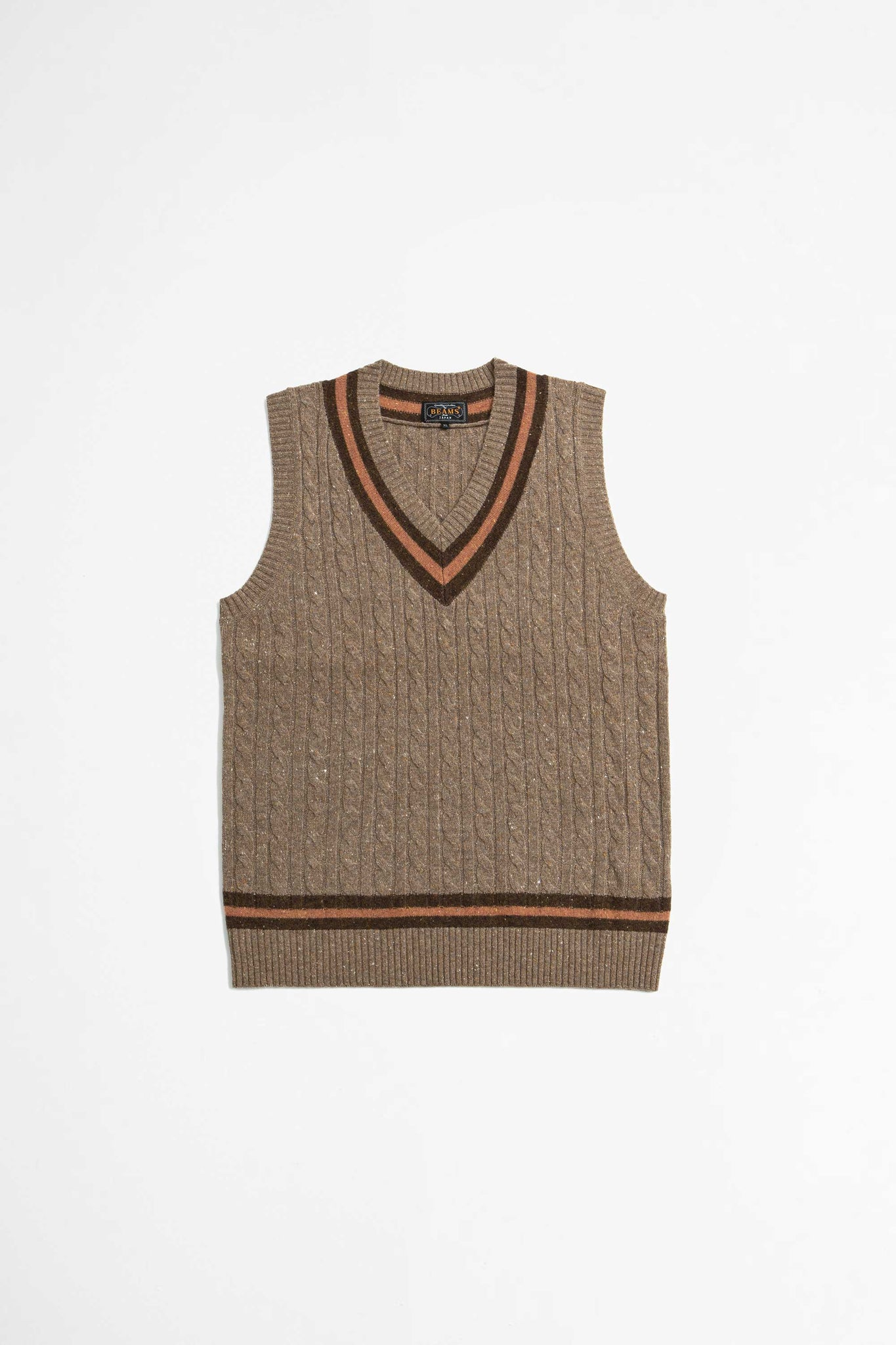 Cricket vest brown