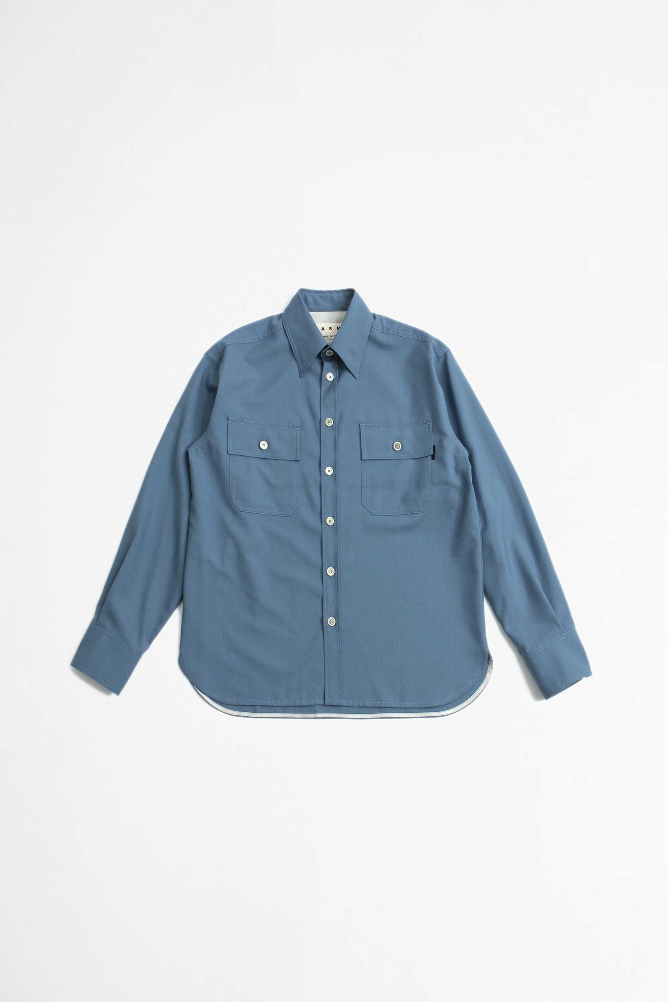 2-Pocket shirt blue