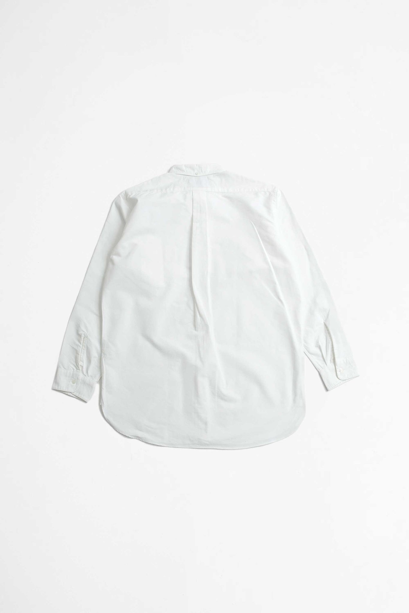American oxford shirt white