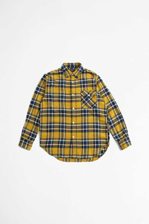 Guide shirt shaggy check yellow