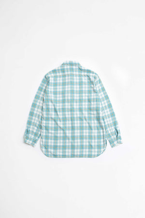 Work vintage-like flannel check shirt
