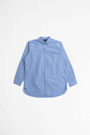 American oxford shirt blue