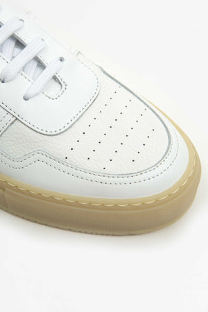Bball low multi material white
