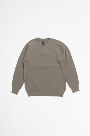 Hightwist wool crew neck mocha