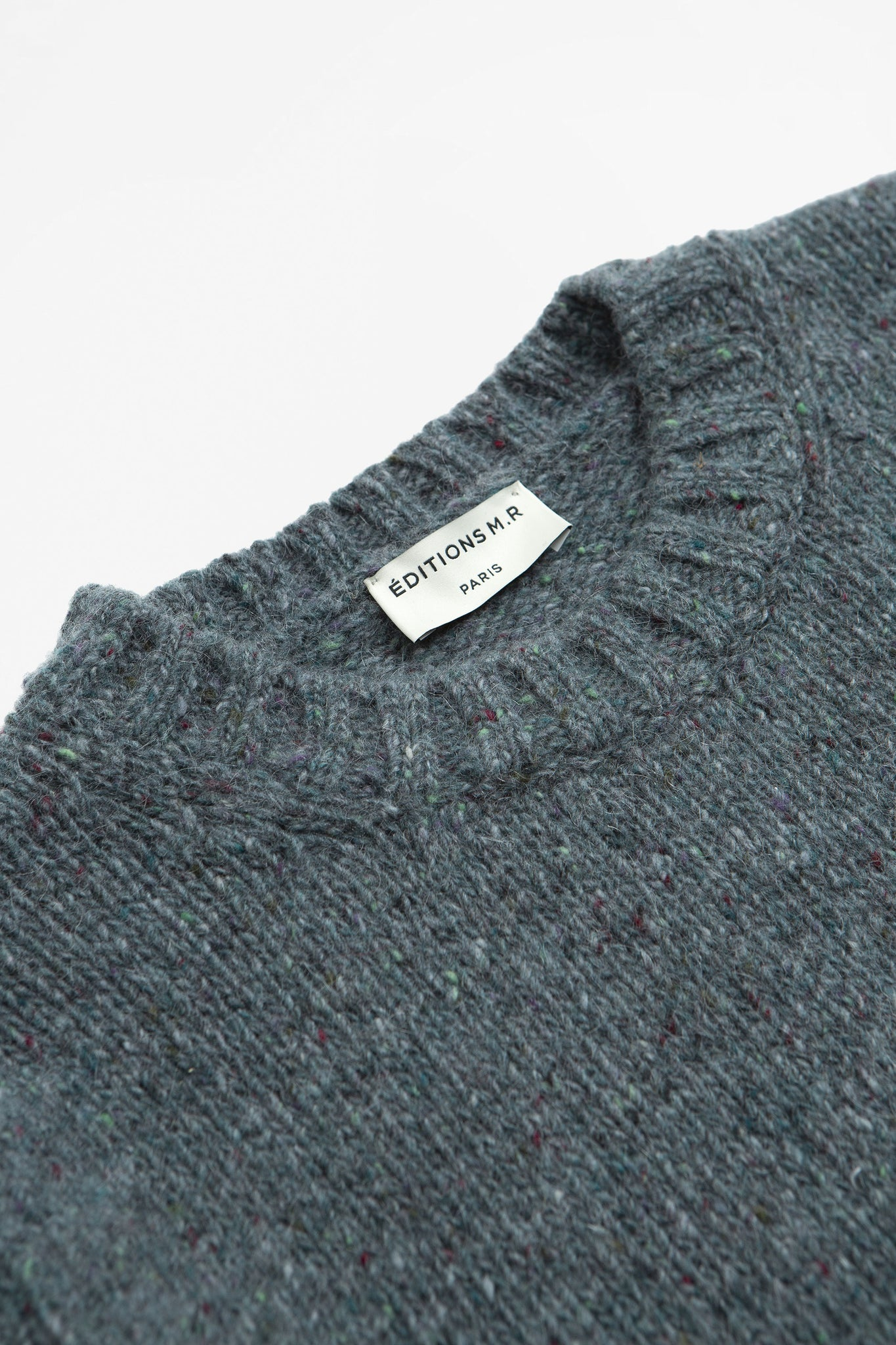 Sweater duncan grey green