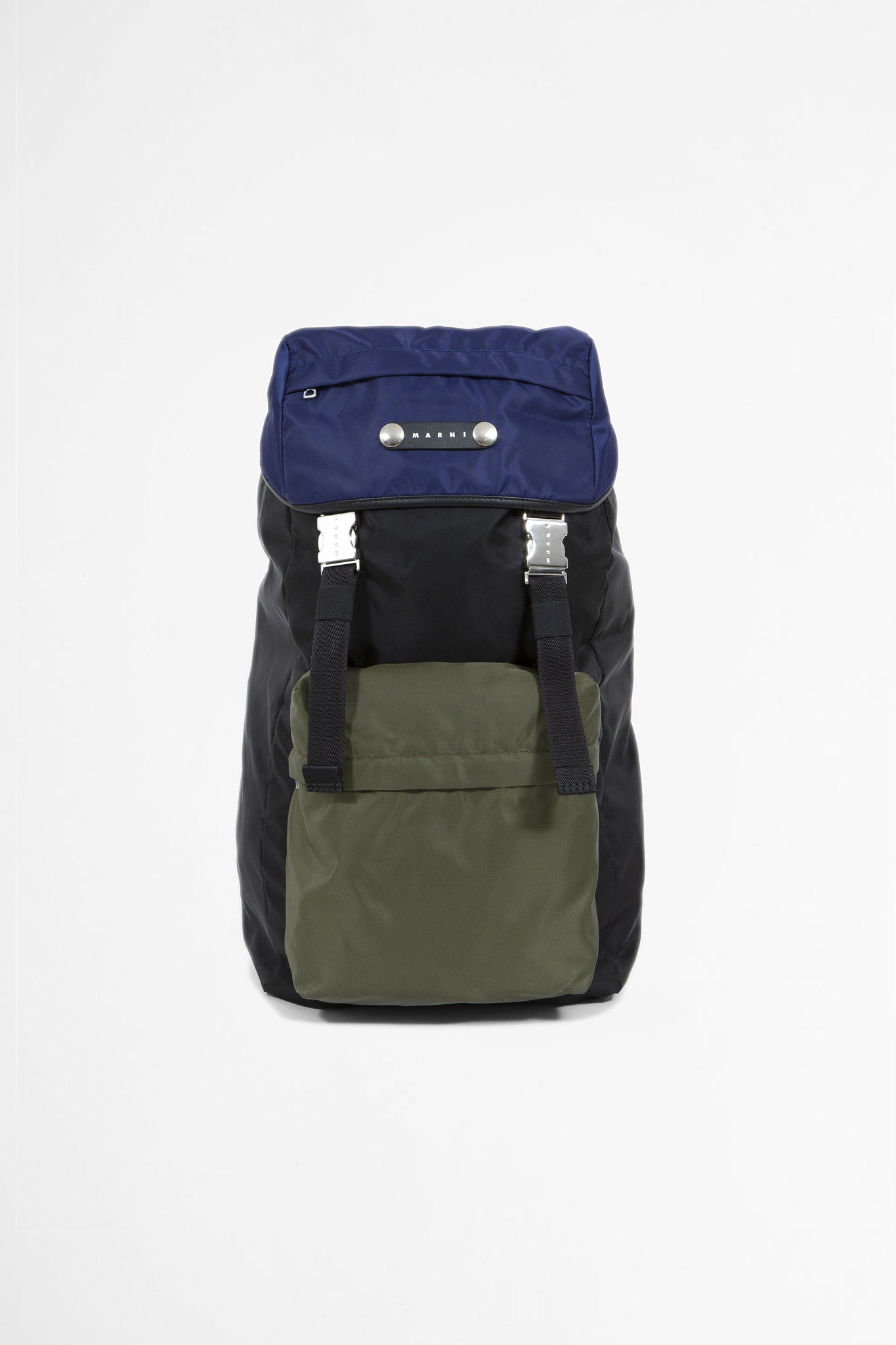 Hackney three tone backpack blue/green