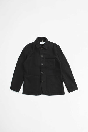 Bakers chore jacket burel black