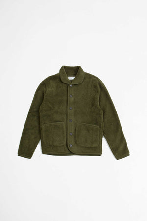 Lancaster jacket mountain fleece olive