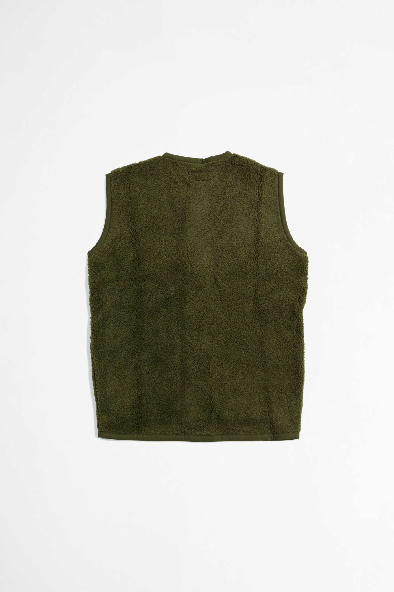 Lancaster gilet mountain fleece olive