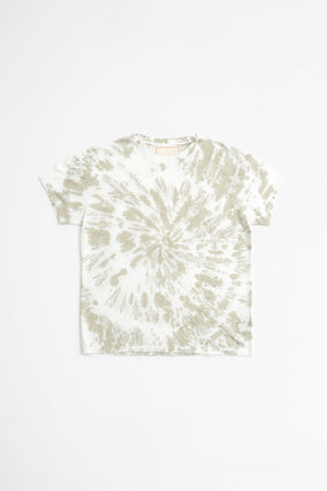 Marcel 180 Tie Dye t-shirt light olive