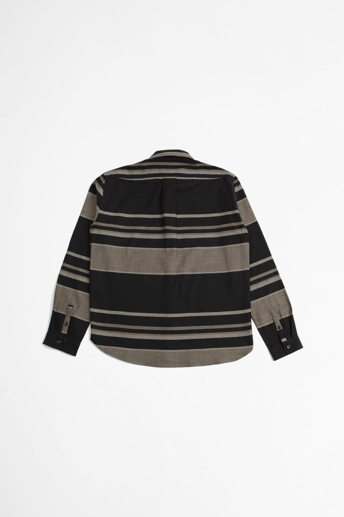 Babylon shirt black stripe