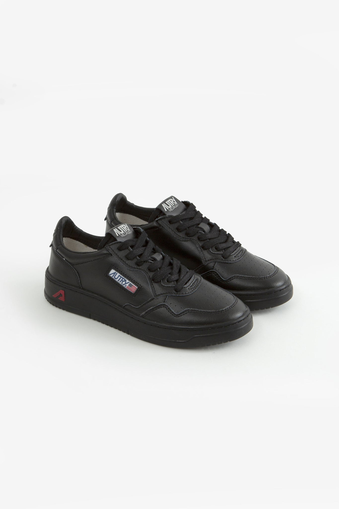 Low sneakers leat/leat black