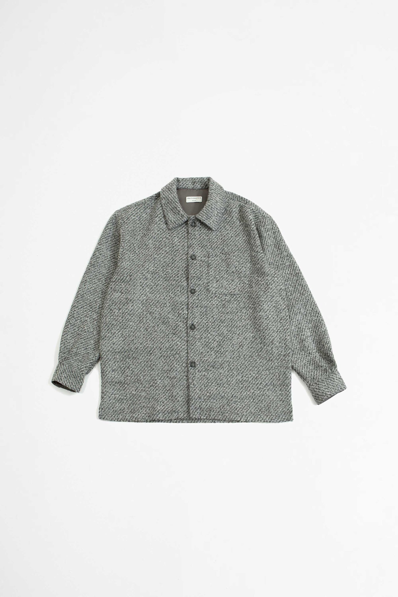 Ulysse overshirt grey