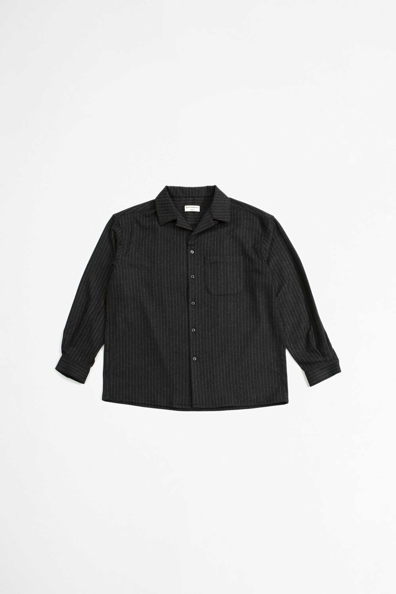 Regis overshirt charcoal