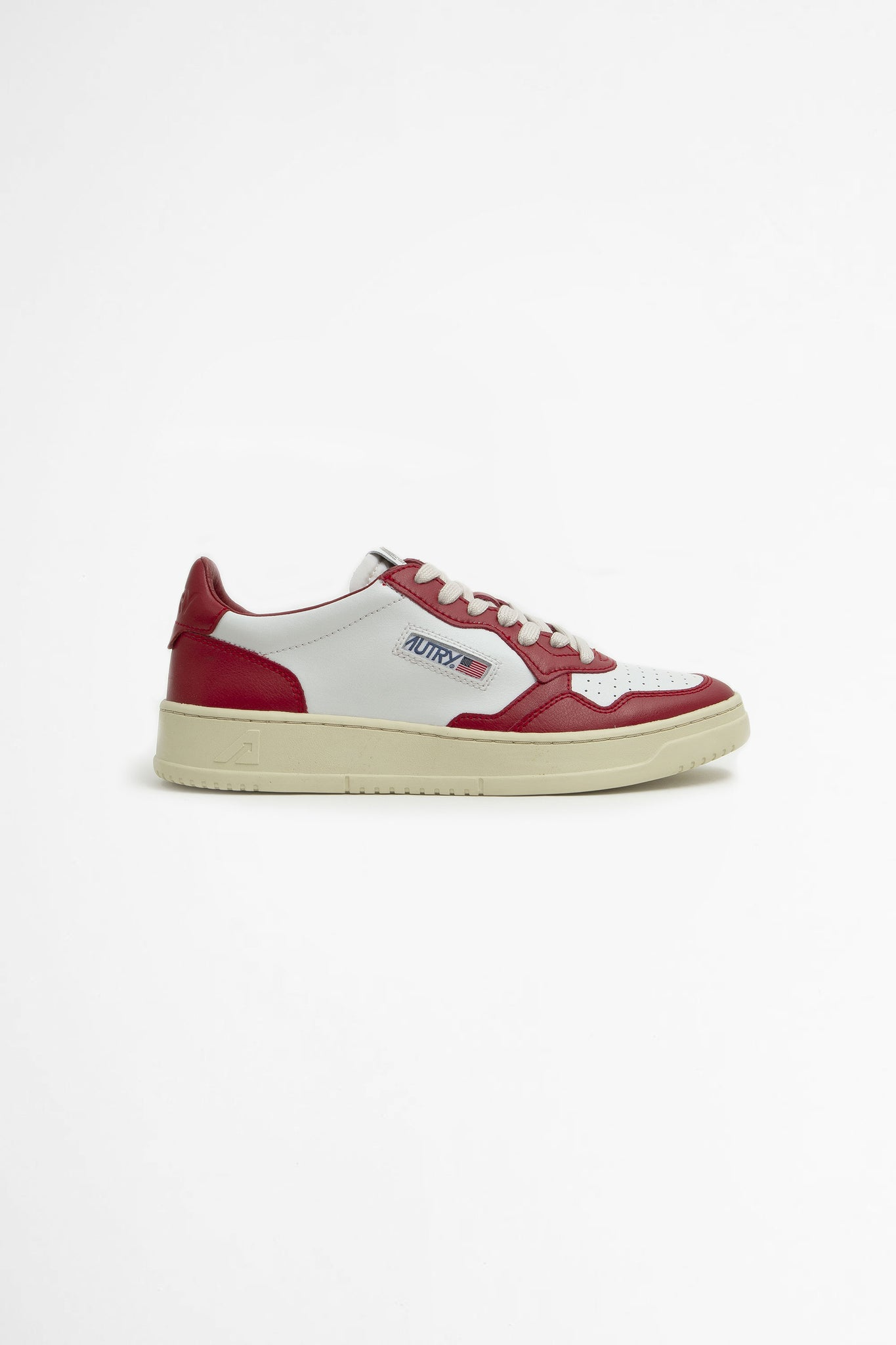 Autry low leat/ leat white/ red