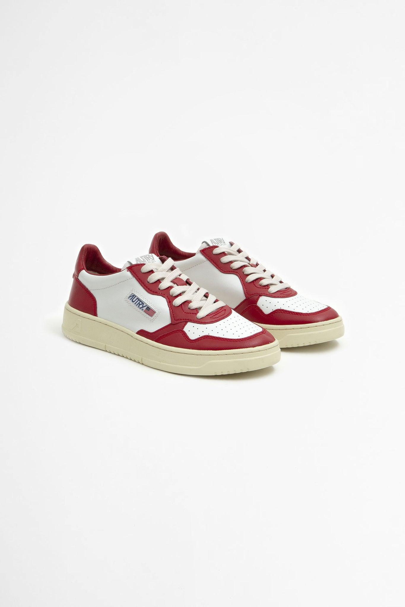 Low leat/ leat white/ red