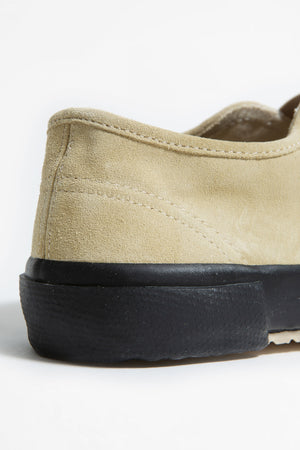 Italian military trainer natural suede/ black sole