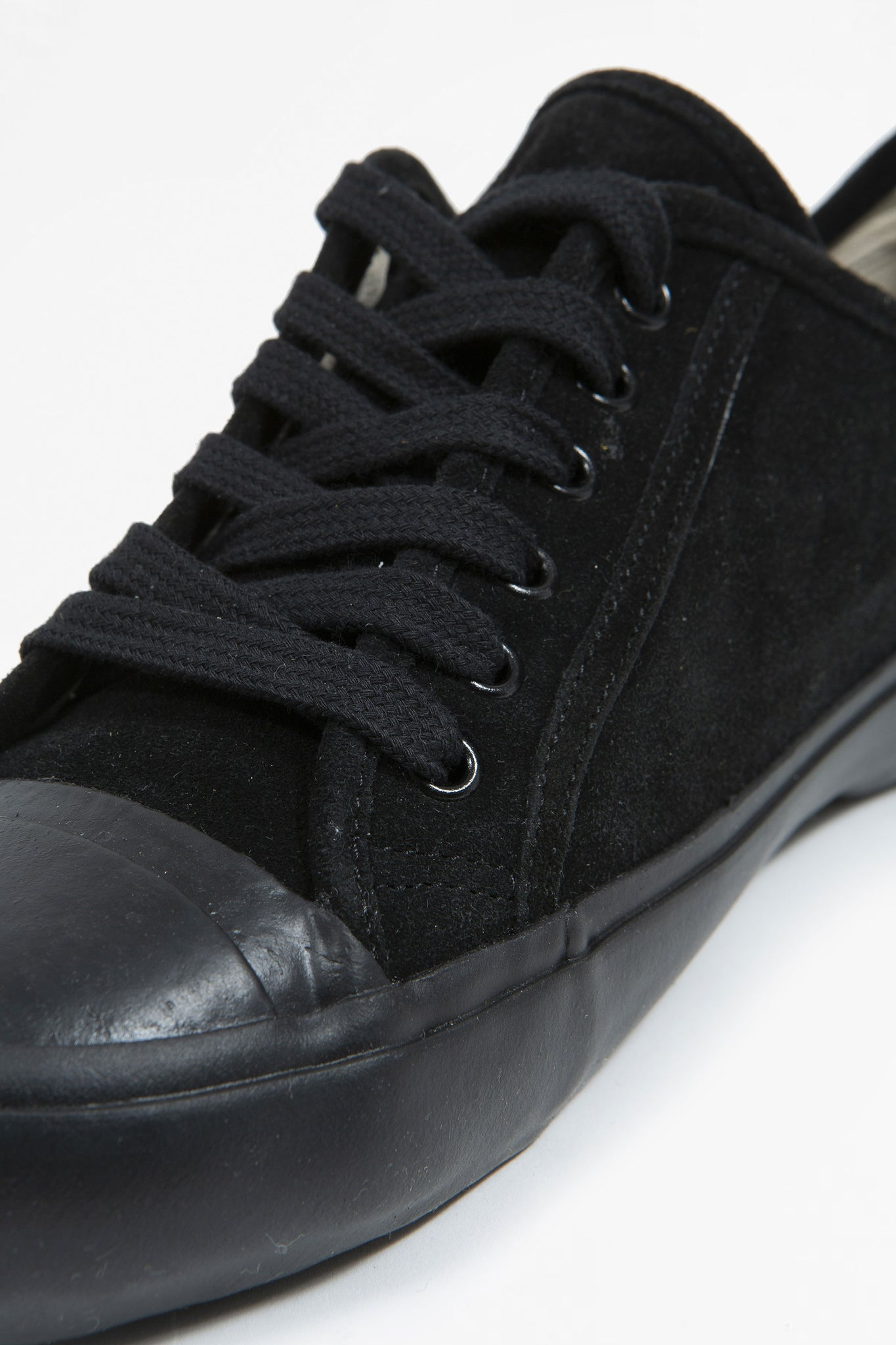 US navy military trainer black suede