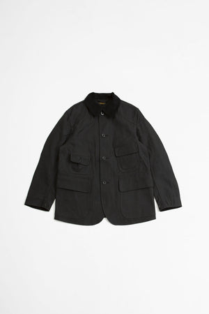 Old hunting jacket black