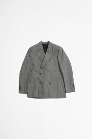 Double breasted jacket grey