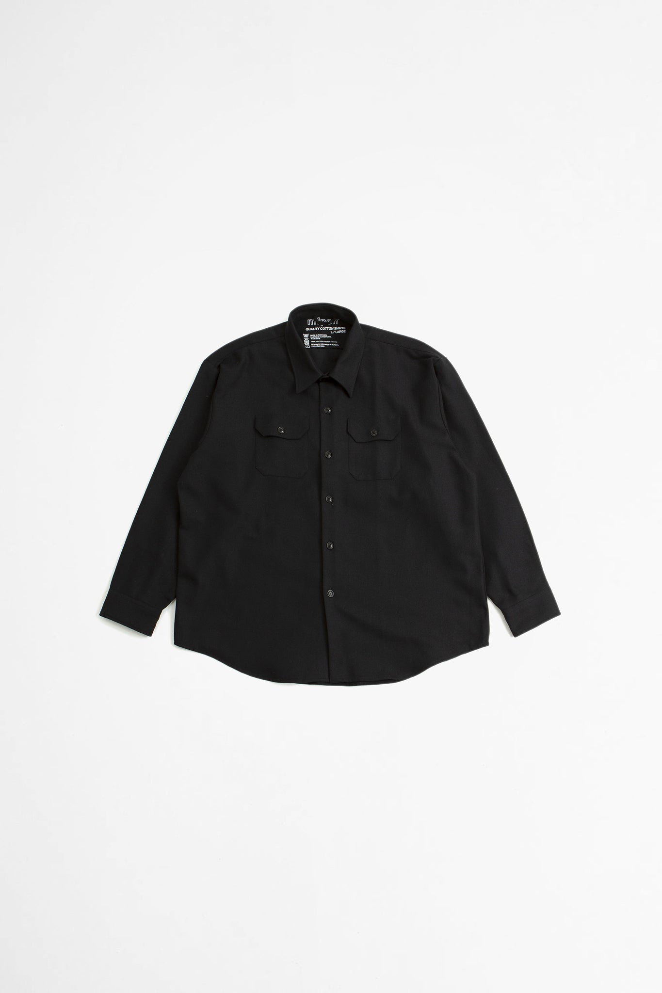 Excess shirt black