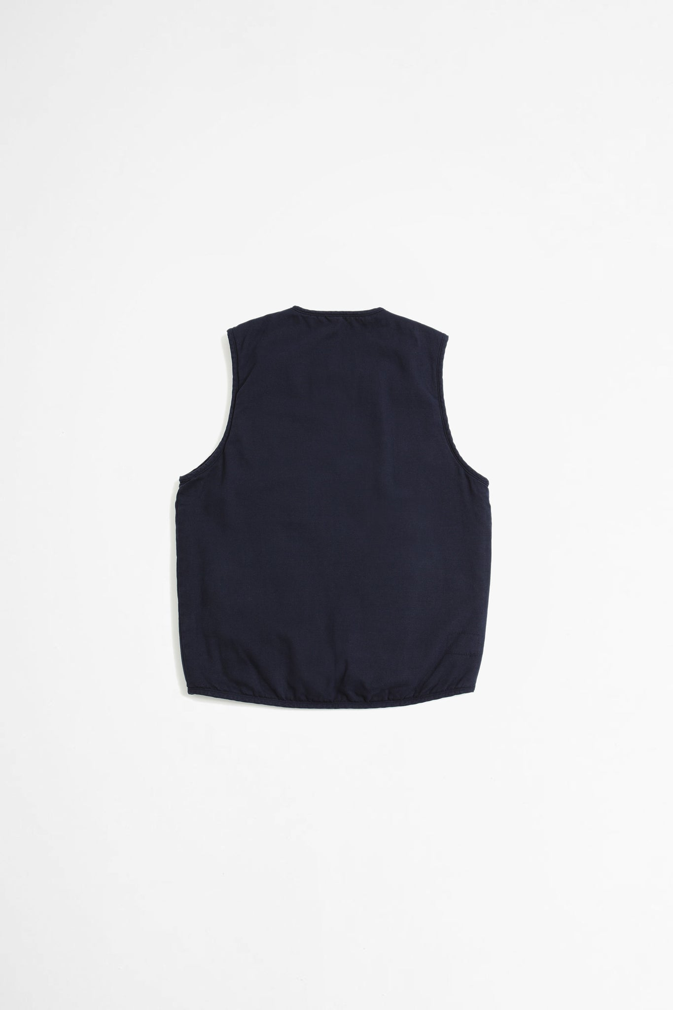 Military liner gilet navy