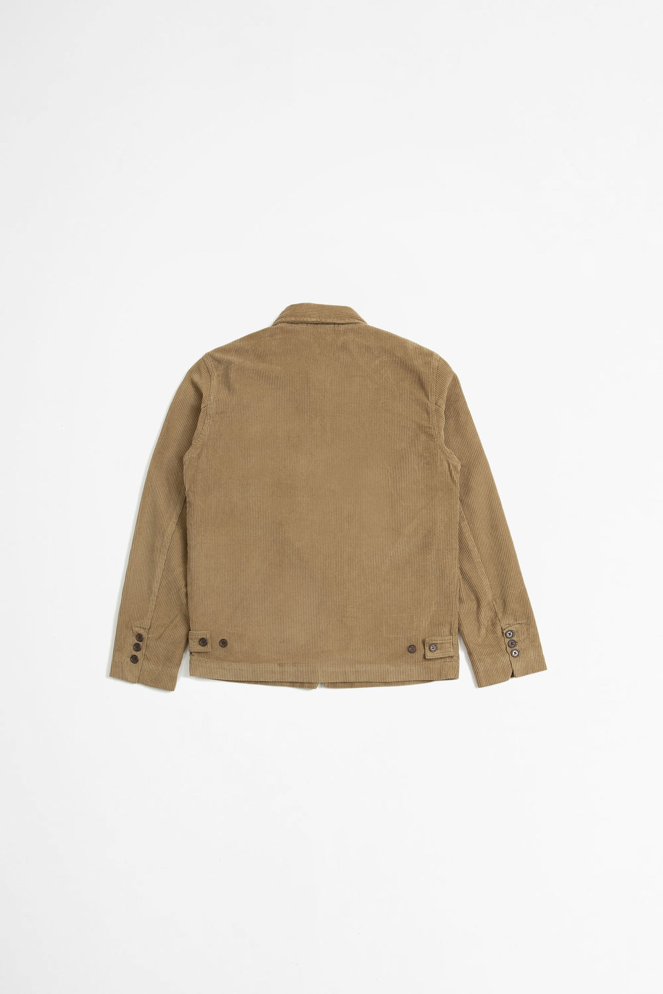 Warmus II jacket cord taupe