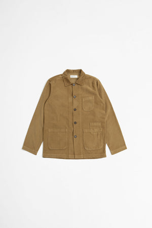 Bakers overshirt fine cord taupe