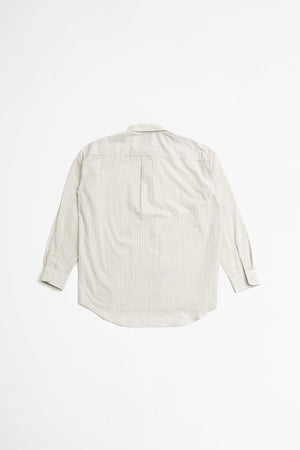 Distant shirt ecru stripe