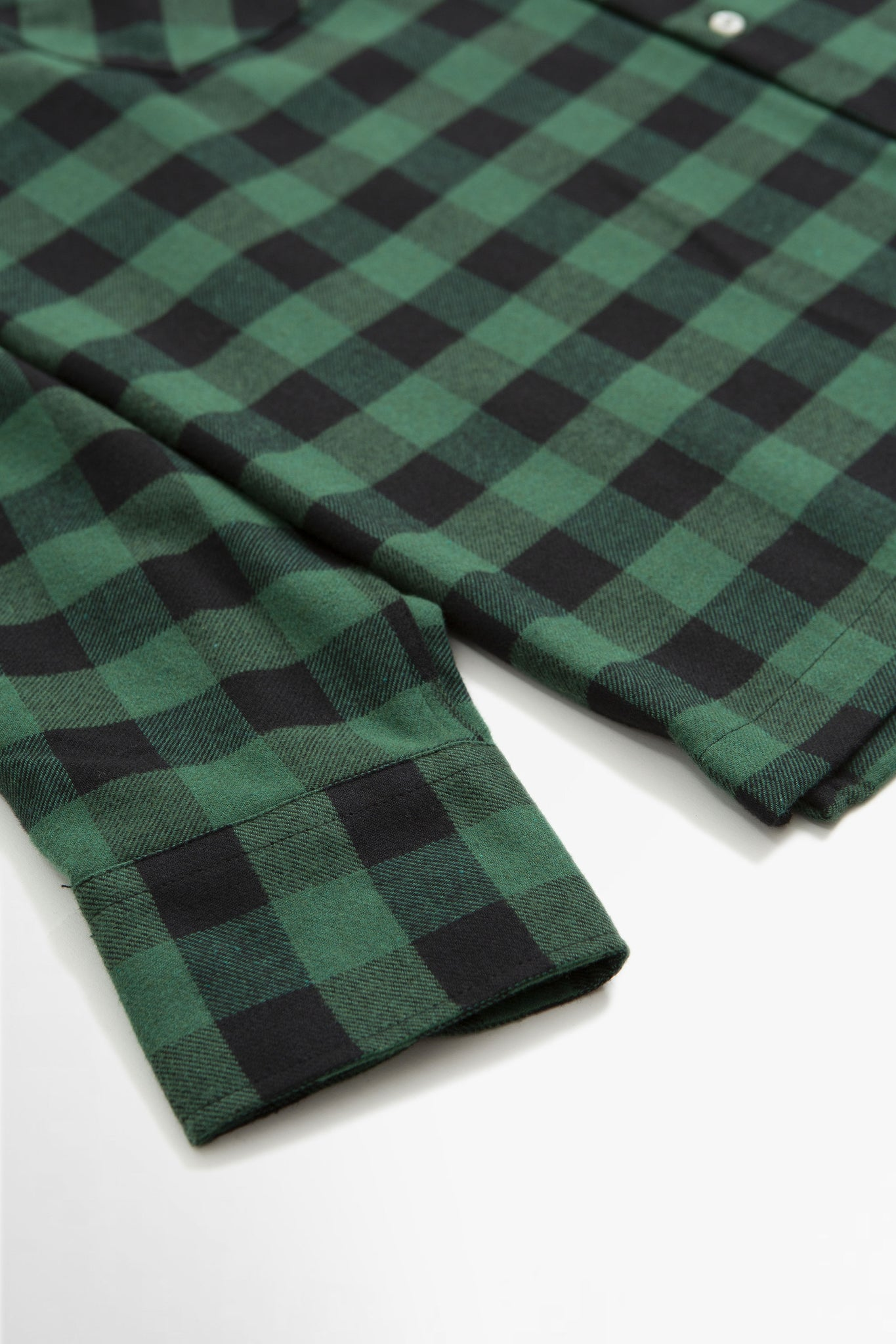 Garage shirt II recycled check green