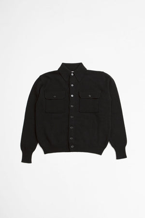 Overshirt  sweater black
