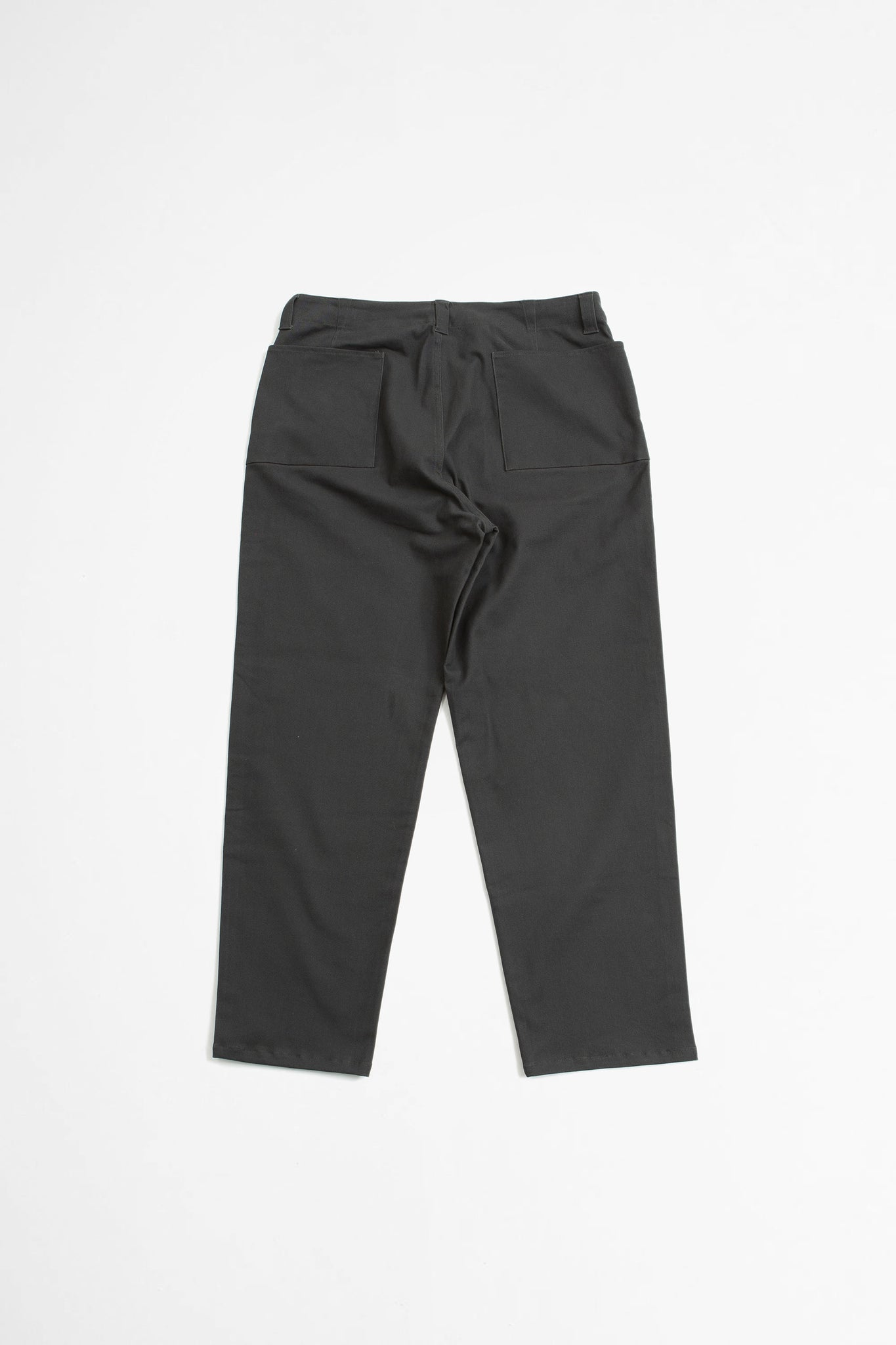 Raised baggy pants grey