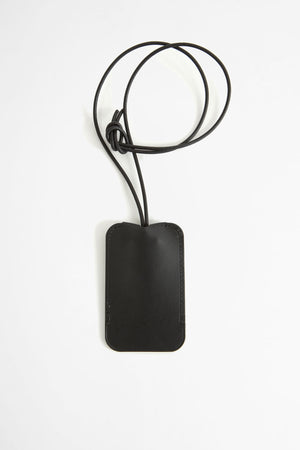 Leather key holder black