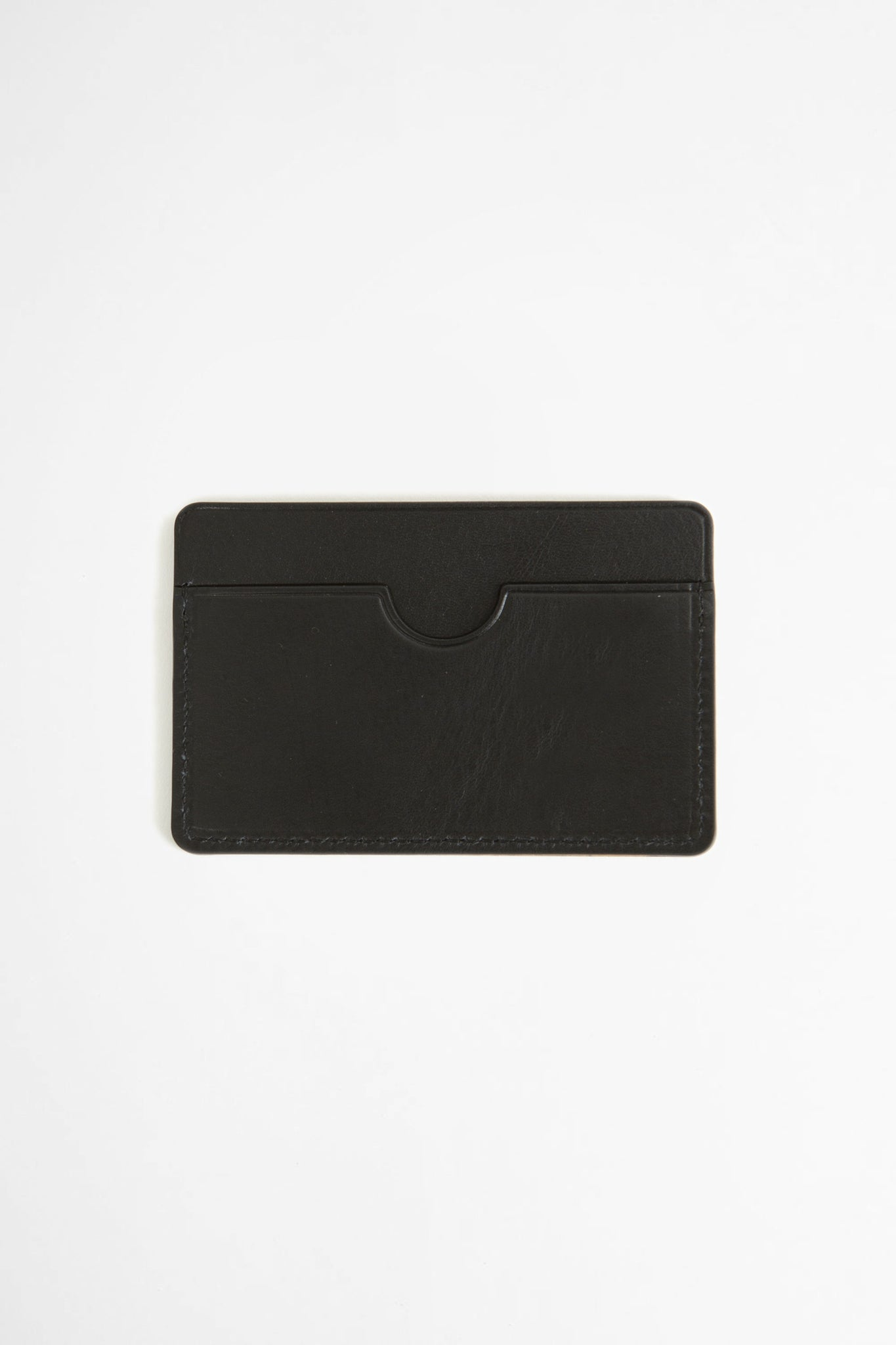 Flat card holder black