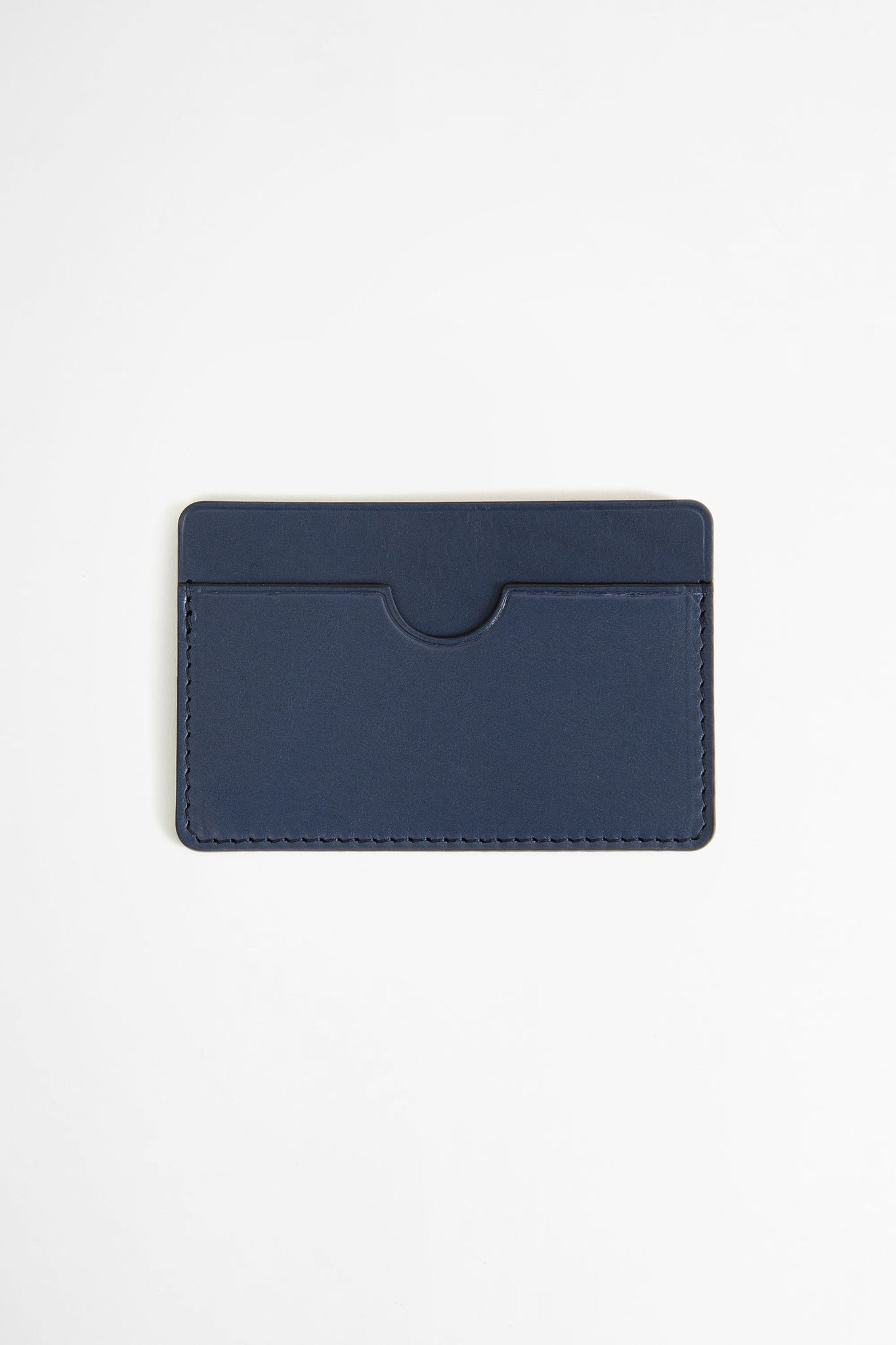 Flat card holder blue