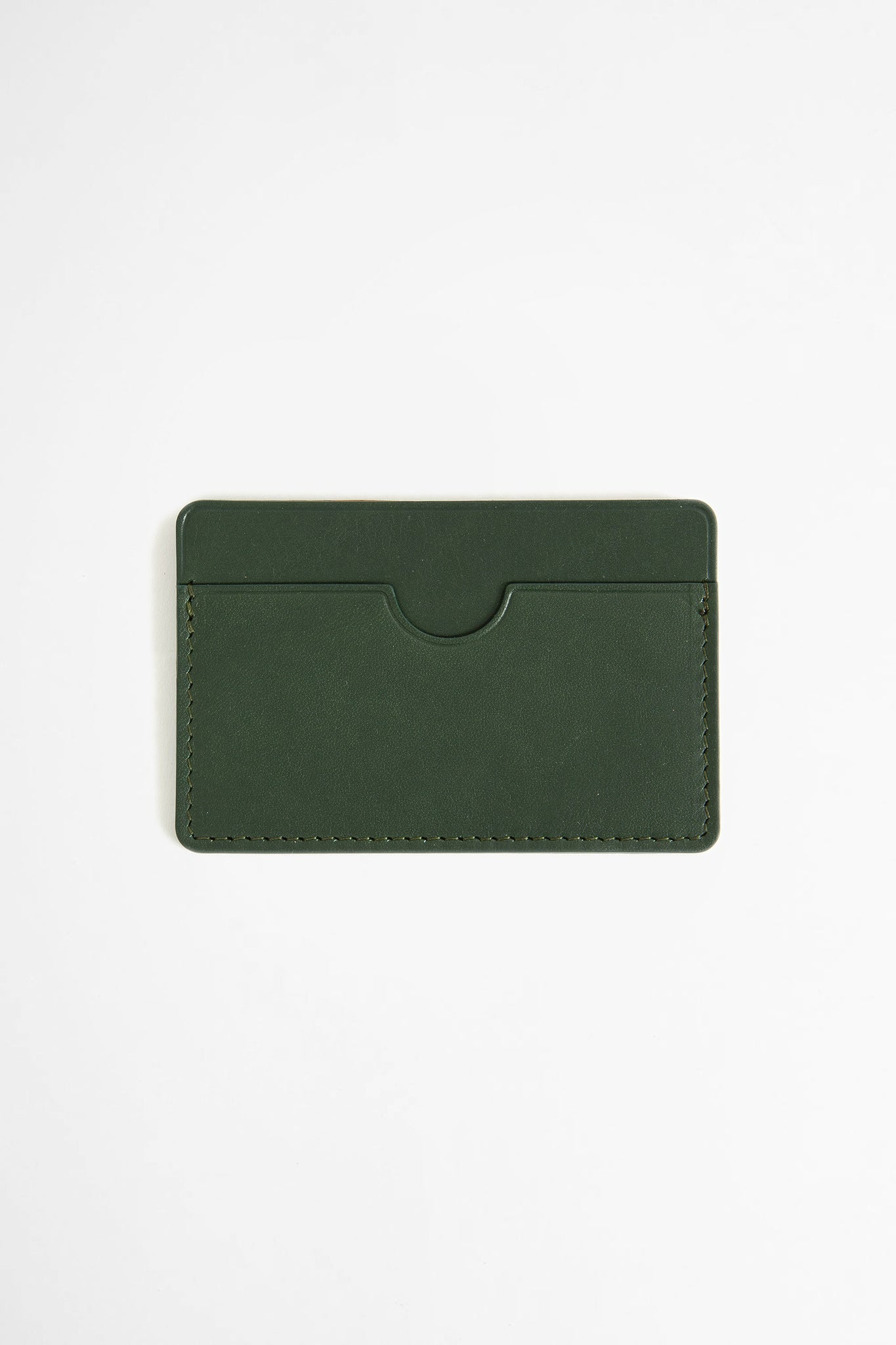 Flat card holder green