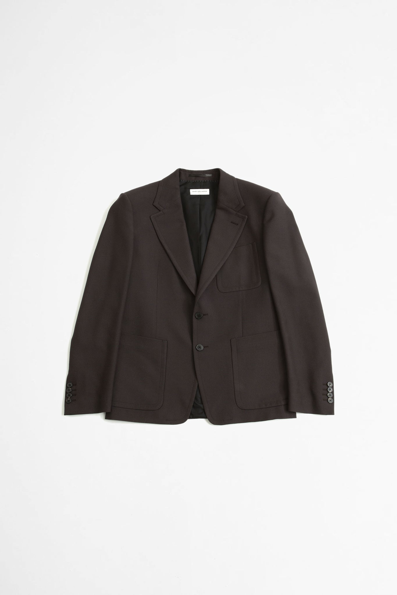 Barras jacket dark brown