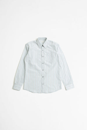 Corbino shirt striped blue
