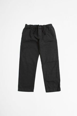 Pull up trouser natural denim black