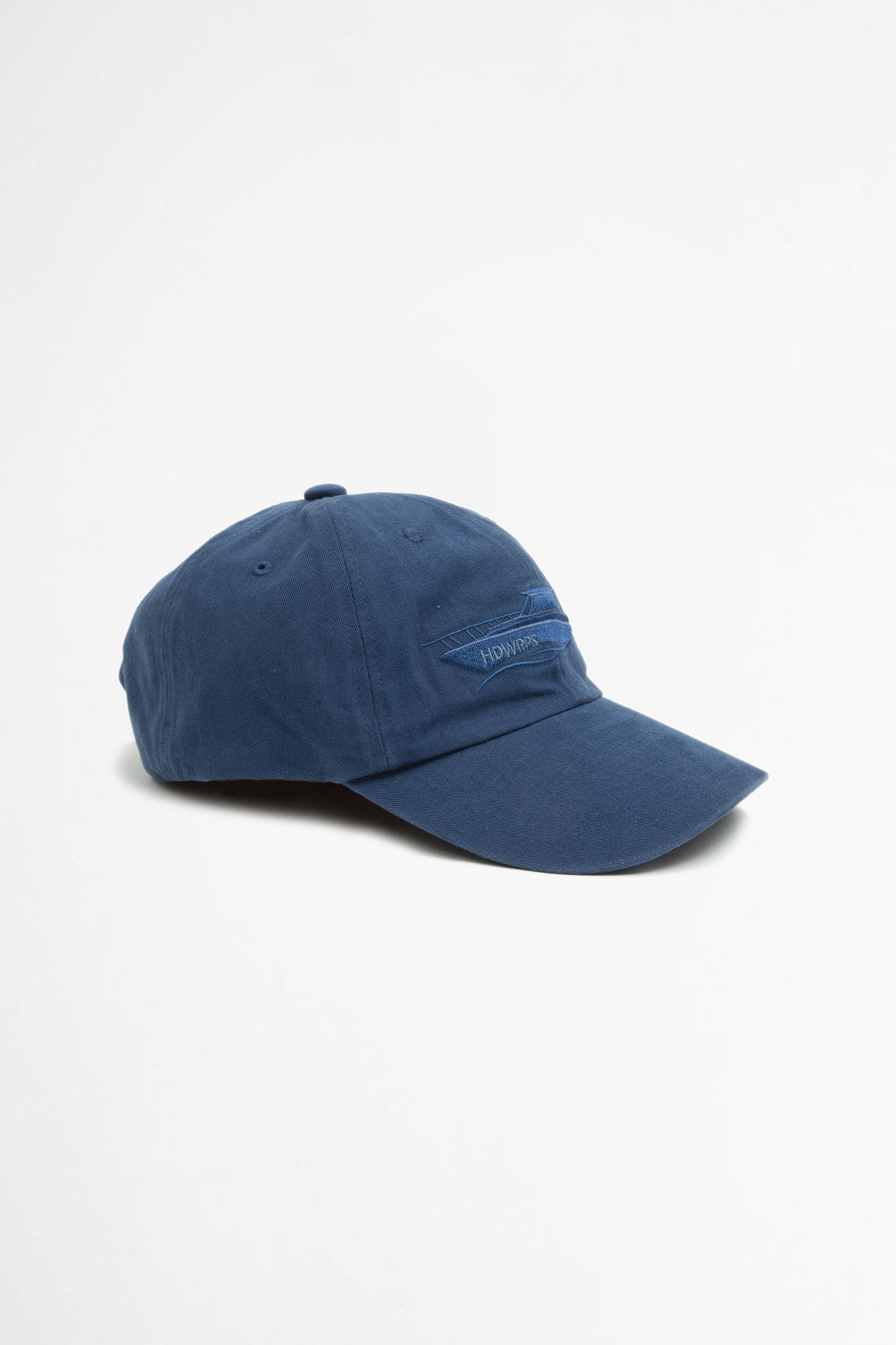 Boat six panel cap blue