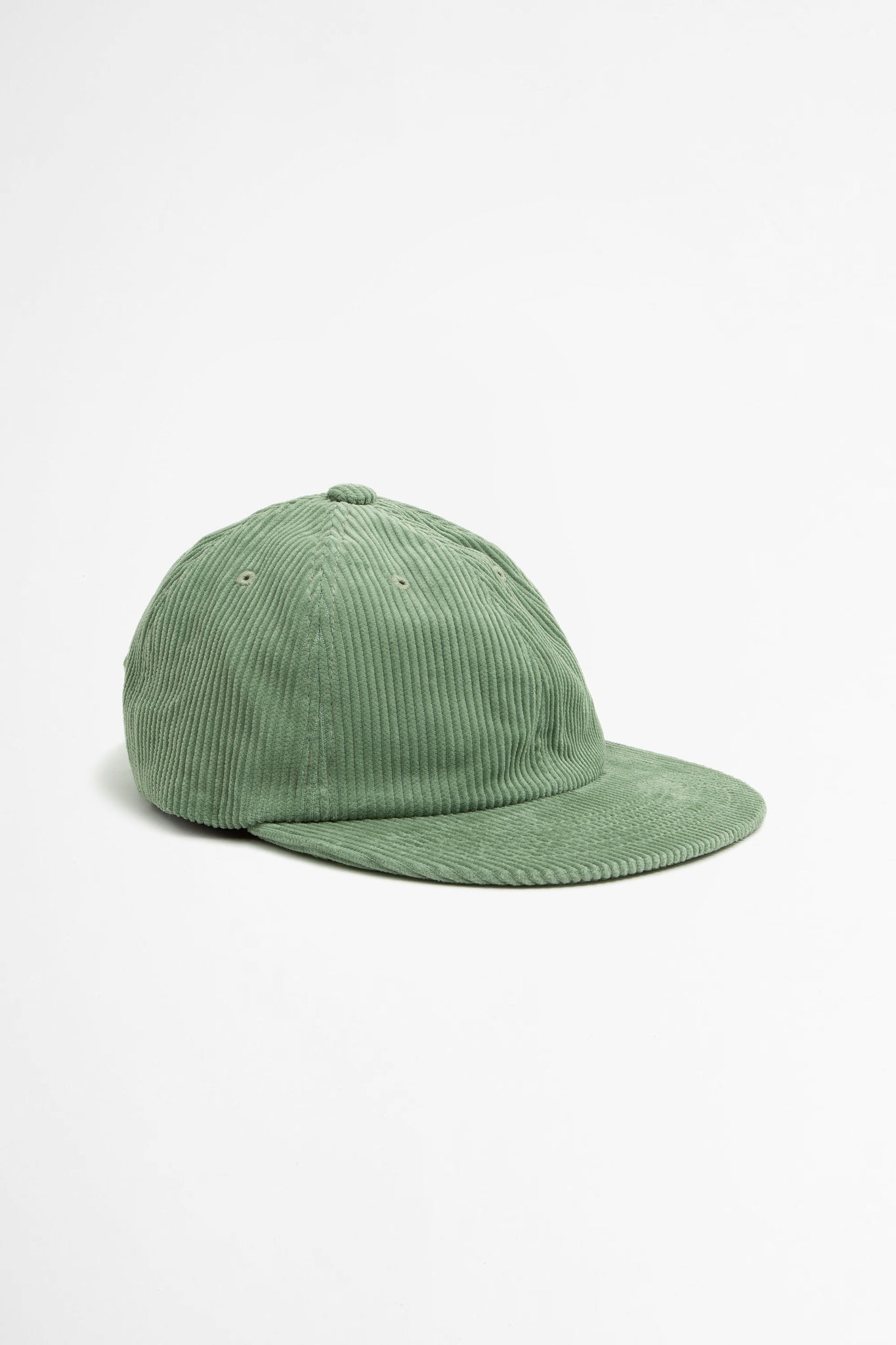 Muzi corduroy six panel cap mint