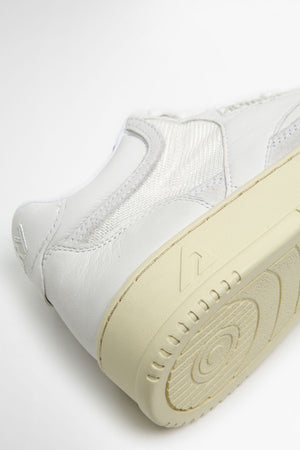 Mid sneakers capsule edition all white